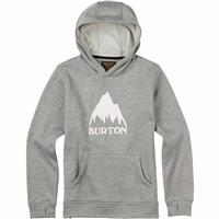 Monument Heather Burton Oak Bonded Pullover Hoodie Boys