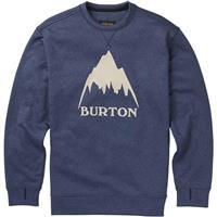 Mood Indigo Heather Burton Oak Crew Sweatshirt Mens