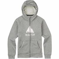 Monument Heather (17) Burton Oak Full Zip Hoodie Mens
