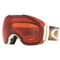 Oakley Airbrake XL Prizm Snow Goggle - Cord Dream Grey Org Frame w/ Prizm Rose + Prizm Black Lenses (OO7071-26)