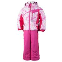 Pink Alpen Print Obermeyer Starlet Suit Girls