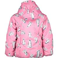 Obermeyer Toddler Cakewalk Jacket - Girl's - Penguins 'N Pink Print (18152)