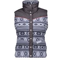 Gunsmoke Print (18117) Obermeyer Carson Down Vest Womens
