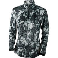 Blackout Floral Obermeyer Sage Sport 75wt Zip Top Womens