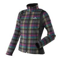 Olive / Grape Juice / Black Eider Opala Soft Shell Jacket Womens