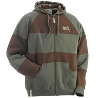 Ride Cut Stripe Full Zip Hoodie Mens