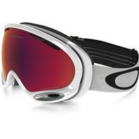 Polished White Frame / Prizm Torch Iridium Lens (OO7044 50) Oakley A Frame 2.0 Prizm Goggle