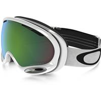 Polished White Frame / Prizm Jade Iridium Lens (OO7044 54) Oakley A Frame 2.0 Prizm Goggle
