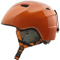 Orange Camo Giro Slingshot Helmet Youth