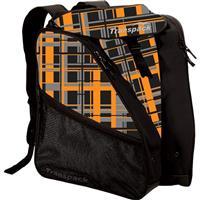 Orange / Gray Ultra Plaid Transpack XT1 Ski Boot Bag