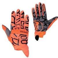 Orange Grenade Draw Glove Mens