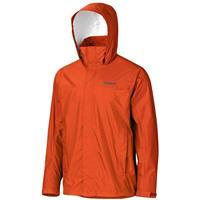 Orange Haze Marmot PreCip Jacket Mens