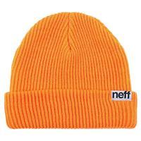 Orange Neff Fold Beanie