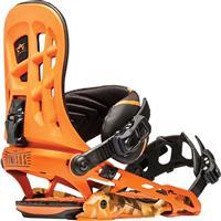 Orange Rome 390 Boss Snowboard Bindings Mens