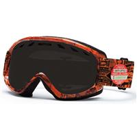 Orange W3 Frame with Blackout and RC36 Lenses Smith Sentry Goggle