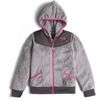 The North Face Oso Hoodie - Girl's - Metallic Silver