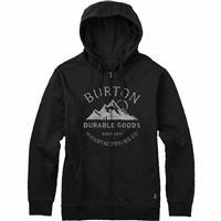 True Black (17) Burton Overlook Full Zip Hoodie Mens