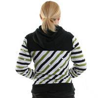 Painted Stripe Ride Series Full Zip Hoodie Womens