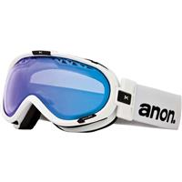 Painted White Frame / Blue Lagoon Lens Anon Solace Goggle Womens