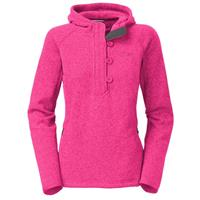 Passion Pink Heather The North Face Crescent Sunset Hoodie Womens