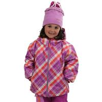 Passionflower Tartan Obermeyer Serenity Jacket Preschool Girls