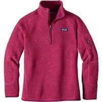 Craft Pink Patagonia Better Sweater 1/4 Zip Girls