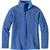 Oasis Blue Patagonia Better Sweater 1/4 Zip Girls