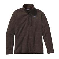 Dark Walnut Patagonia Better Sweater 1/4 Zip Mens