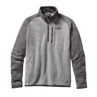 Nickel / Forge Patagonia Better Sweater 1/4 Zip Mens