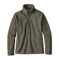 Industrial Green Patagonia Better Sweater 1/4 Zip Womens