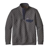 Patagonia Cotton Quilt Snap-T Pullover - Men's - Forge Grey