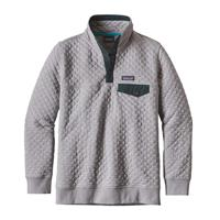 Drifter Grey Patagonia Cotton Quilt Snap T Pullover Womens