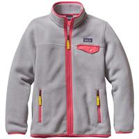 Patagonia Lightweight Synchilla Snap-T Jacket - Girl's - Drifter Grey