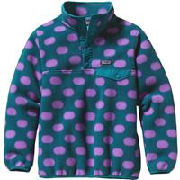 Pop Dot Patagonia Lightweight Synchilla Snap T Pullover Girls