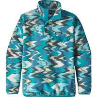 Trout Tails / Elwha Blue Patagonia Lightweight Synchilla Snap T Pullover Womens