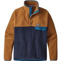 Navy / Bear Patagonia Lightweight Synchilla Snap T Pullover Mens