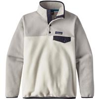 Birch White Patagonia Lightweight Synchilla Snap T Pullover Womens