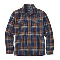 Blue Ox / Navy Patagonia Longsleeve Fjord Flannel Shirt Mens