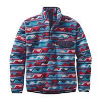 Delta / Navy Patagonia Lightweight Synchilla Snap T Pullover Mens