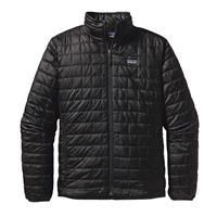 Black Patagoania Nano Puff Jacket Mens