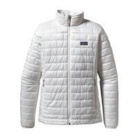 Birch White Patagonia Nano Puff Jacket Womens