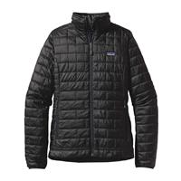 Black Patagonia Nano Puff Jacket Womens