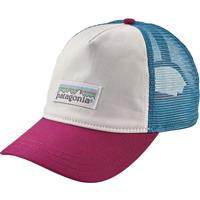 White Patagonia Pastel P 6 Label Trucker Hat Womens