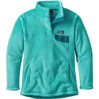 Patagonia Re-Tool Snap-T Pullover - Girl's - Strait Blue