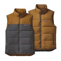 Forge Grey Patagonia Reversible Bivy Down Vest Mens