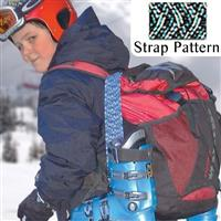 Peacock Fast Strap Spring Loaded Ski Boot Strap