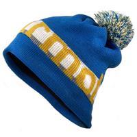 Peak Blue Marmot Retro Pom Hat