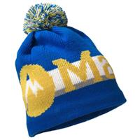 Peak Blue Marmot Retro Pom Hat Boys