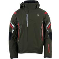 Peat / Volcano / Black Spyder Bromont Jacket Mens