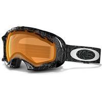 Persimmon Oakley Splice Goggles / Silver Factory Text